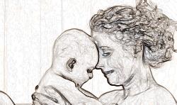 Об одиноких матерях