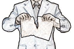 Расторжение договора с нанятым руководителем