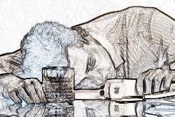 Пребывание в состоянии алкогольного или наркотического опьянения