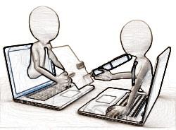 Организация труда и обмен документацией