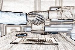 Сфера регулирования и стороны трудового договора и договора подряда