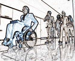 Сокращенный режим для инвалидов