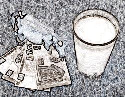 В каком случае молоко можно заменить на деньги