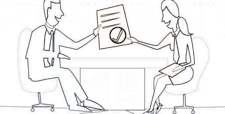 Заполненный образец приказа о приеме на работу